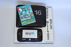 Wii U cake http://www.jaimecakeskendal.co.uk