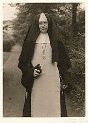 NUN. Catholic Nun, August Sander   German, 1921. © J. Paul Getty Trust