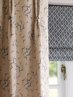 Love this combination - both from Whitewood collection - Linwood Fabrics