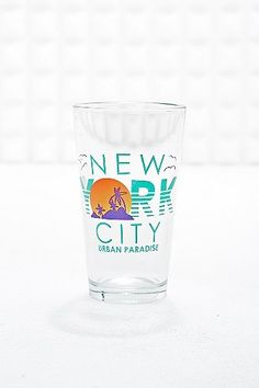 New York City Pint Glass - Urban Outfitters