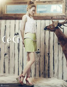 Miss A Fei – Ceci Magazine May Issue '12