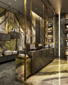 Antolini Black Bathroom on Behance