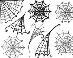Spider Web ClipArt - Halloween Clip Art - Png Digital Stamps & Photoshop Brushes - Spider Mant - Boy Birthday Party Graphics - Invitations - Visit to grab an amazing super hero shirt now on sale! Halloween Doodle, Halloween Clipart, Halloween Spider, Halloween Crafts, Halloween Decorations, Halloween Items, Spider Costume, Trendy Halloween, Homemade Halloween