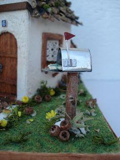 Boîte aux lettres vache handebemalt avec journal rôle Métal Boîte aux lettres boîte aux lettres