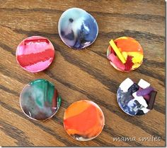 Summer Science for Kids: Sun-upcycled crayons - Mama Smiles