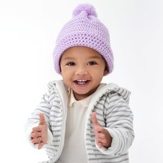 Loops & Threads® Snuggly Wuggly™ Granger Baby Hat