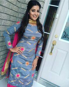 Punjabi Suits Party Wear, Punjabi Salwar Suits, Anarkali Suits, Patiala Salwar, Kurti, Simple Outfits, Trendy Outfits, Curvy Outfits, Patiala Suit Designs