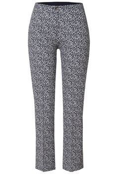 Rosner Damen Stretchhose Alisa_296 Weiss/Marineblau | SAILERstyle Trends, Elegant, Slim Fit, Pajama Pants, Pajamas, Fashion, Cloakroom Basin, Reach In Closet, Trousers