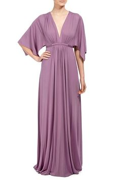 This kimono sleeve maxi dress is our all-time best seller!  Great for all shapes and sizes. Our classic caftan styles are materntiy-appropriate, and are available in other color and print options. See what's available by clicking here.