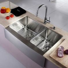 Modern Farmhouse Kitchen Sink Design Decor Ideas (48)