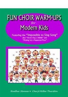 Choir Warm Ups for Your Older Students by Heather Stenner and Cheryl Miller Thurston. Your students will ask to start every rehearsal with these great warm-ups. Adding humor to challenging warm-ups will add just the right spice to your classroom.   #musiceducatoin