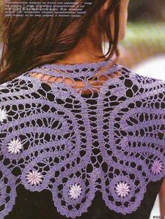 Bruges Crochet Shawl
