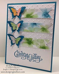 Perfectly Penned All Occasion Butterfly Card with a How To Video