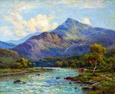 Alfred de Breanski Jnr (1877-1957), The Glaslyn River, North Wales.