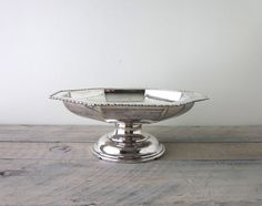Vintage Silver Plate Compote by 22BayRoad on Etsy