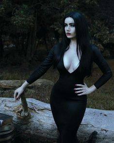 Dark Fashion, Gothic Fashion, Vintage Fashion, Hot Goth Girls, Gothic Girls, Gorgeous Women, Amazing Women, Beautiful Females, Goth Beauty