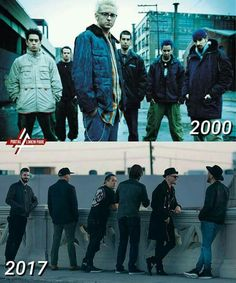 Linkin Park. Back then or now. No difference. Just great music throughout the years.