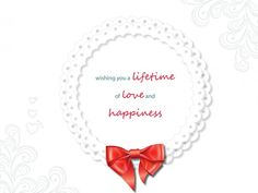 Lifetime Love Happiness One Life, Wish, Happiness, Love, Happy, Cards, Wedding, Amor, Valentines Day Weddings