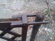 sluitsysteem poort