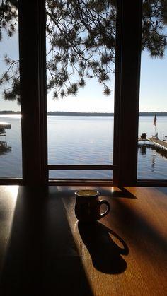 Morning at the lake!