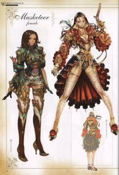 Art Books Free Downloads: Granado Espada Plus Visual Chronicle Artbook