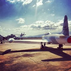 Late Afternoon T-33 Shadows #aircraft #aviation