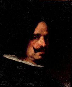 Autorretrato (Diego Velázquez, circa 1650, Museo de Bellas Artes, Valencia, Spain)