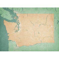 Washington - City Prints Map Art