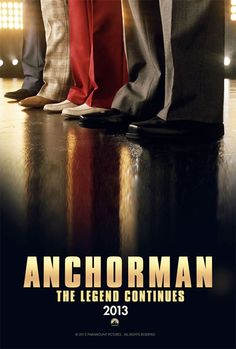 Anchorman 2: The Legend Continues first poster!!
