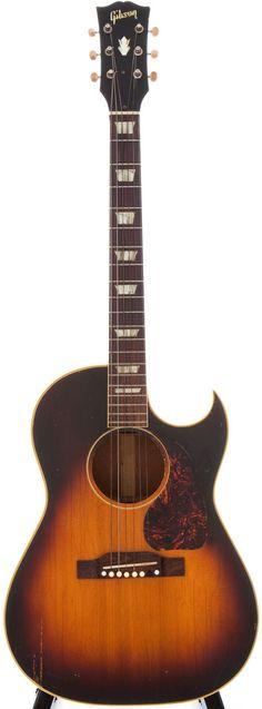 1956 Gibson CF-100 Sunburst Acoustic Guitar, Serial # V-6305