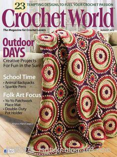 Crochet World  August 2012 - 轻描淡写 - 轻描淡写
