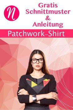 Raglan-Shirt für Damen zum selber nähen. Freebook und Anleitung für Größe 36 - 48 ✂ Jetzt Nähtalente.de besuchen - Magazin für kostenlose Schnittmuster ✂