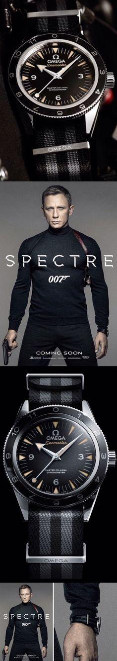 #Bond-JAMES-Bond007 Omega Seamaster 300 Spectre James Bond 007 Watch - edit #Luxurydotcom