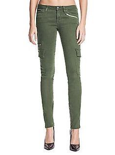 bc62295e718 Guess skinny cargo pants Skinny Cargo Pants