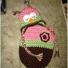 Crochet baby cocoon | crochet baby