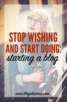 Stop thinking about it! Starting a blog isn't as hard as you think: get it going in an hour or less!