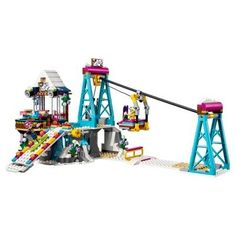 Lego Friends Snow Resort Ski Lift 41324