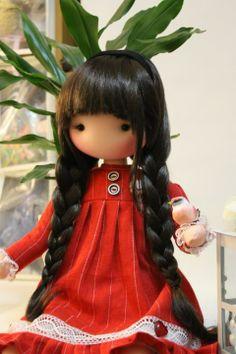 ''Fidelina Dolls...Soul & Heart''. Knitted Dolls, Crochet Toys, Doll Toys, Baby Dolls, Best Baby Doll, Kokeshi Dolls, Waldorf Dolls, Soft Dolls, Soft Sculpture