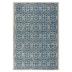 Holy crap, this is the rug. So freaking gorgeous. Not too serious, with color but still neutral... and pretty inexpensive, too! $205 for a 5x8.