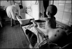 More Chernobyl low radiation victims (Paul Fusco photography), Minsk Childrens' Home.