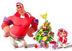 ✹ Bonecos em 3D ✹ Funny Videos, Emoticon, Animated Gif, Bowser, Merry Christmas, Cartoon, Dolls, Disney, Kids