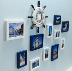 A Set of NEW HANGING MODERN CREATIVE PHOTO FAMILY PICTURE FRAME 16050605
