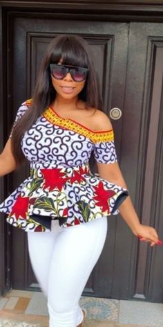 Sneakers For Women 2019 : 20 Ankara Top Fashion Styles - Visit Ankara Lovers For Short African Dresses, Latest African Fashion Dresses, African Print Fashion, Ankara Fashion, Africa Fashion, African Prints, African Fabric, Short Dresses, Ankara Dress Styles