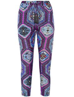 Emilio Pucci silk-charmeuse tapered pants
