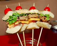 Turkey-burger pops!