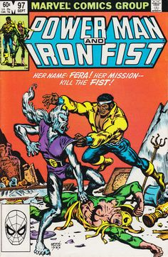 Power Man and Iron Fist # 97 by Ernie Chan