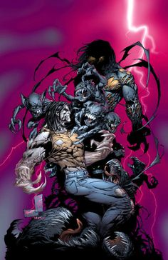 The Darkness #38 with Ripclaw - Marc Silvestri  Comic Art Community GALLERY OF COMIC ART