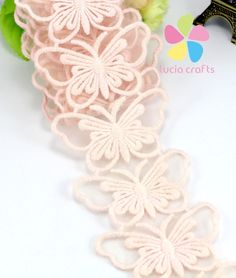 7.3cm Multi colors option Butterfly shape knitting Embroidery Cotton Lace DIY Sewing Accessories 1yard/lot 050025072-in Lace from Home & Garden on Aliexpress.com | Alibaba Group