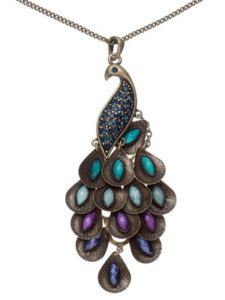 Peacock Necklace-