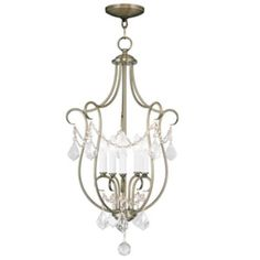 Livex Lighting - 6436-01 - Chesterfield - Five Light Foyer